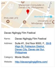 DNF17 GoogleMap